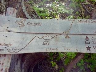 El caminito a las Torres