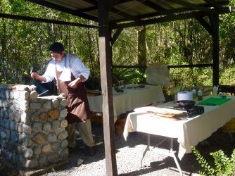 Lorenzo, el chef conductor